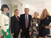 Amb. Chowdhury & Countess Bobrinskoy