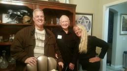 Sandra, Frank, Father Ernie
