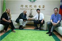 Dr. Ghaly & Dr. Huang at Dept. of Health Taiwan